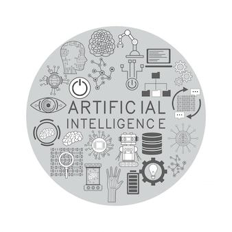 人工知能のアイコン
