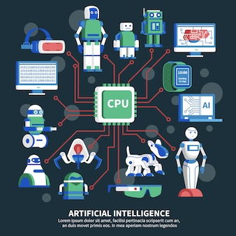 Artificial intelligence illustration