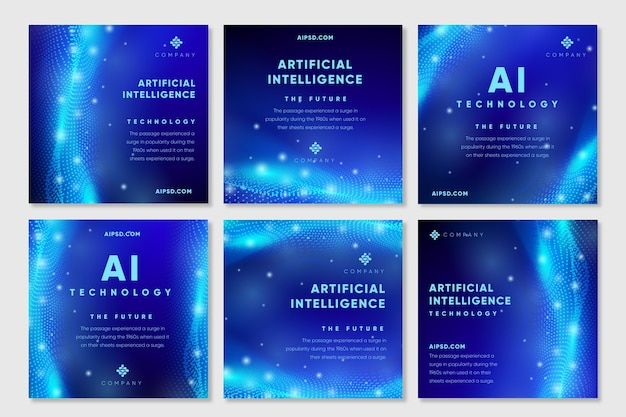 Artificial intelligence instagram posts