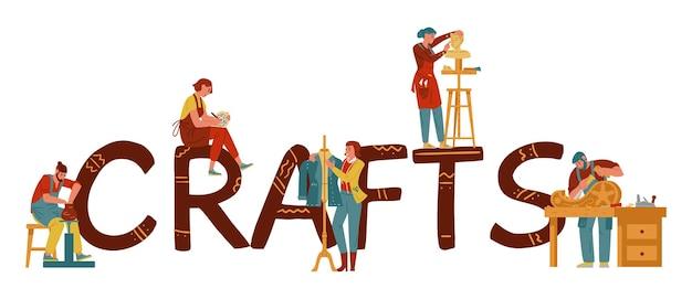Artisans and creative hobbbies