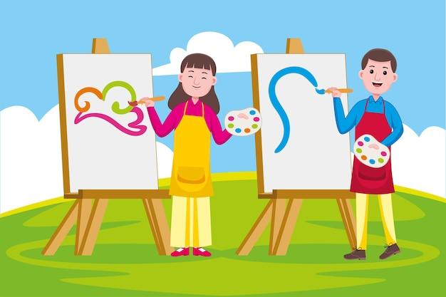 アーティストの職業
