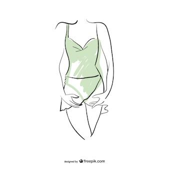 Artistic ballerina body