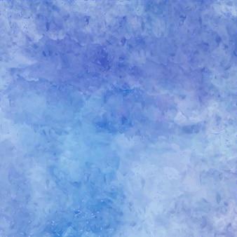 Artistic blue watercolor texture