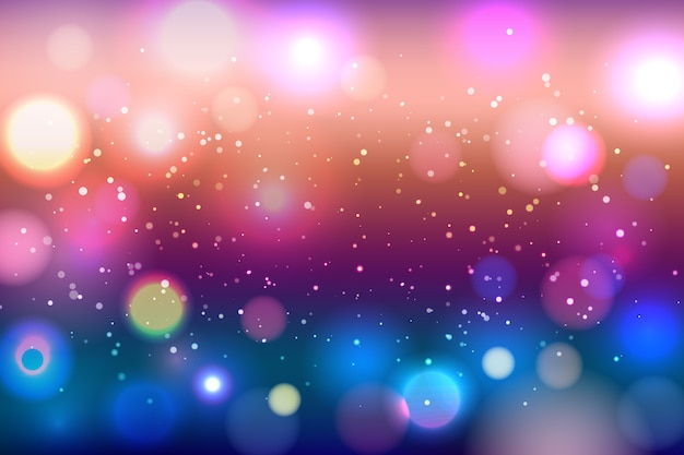 Artistic bokeh background