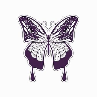 芸術的な蝶