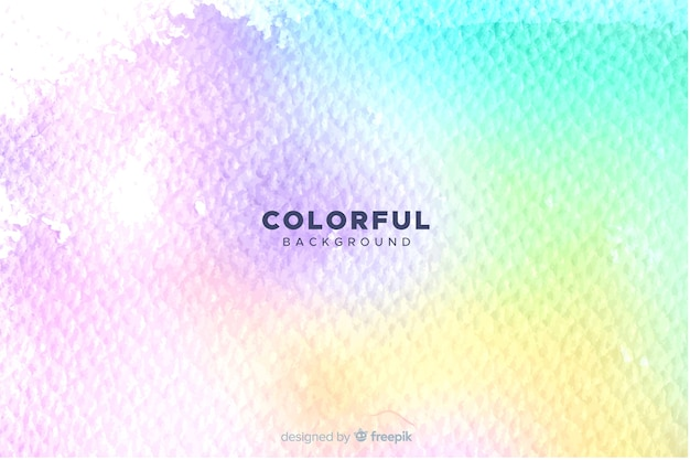 Artistic colorful watercolor style background