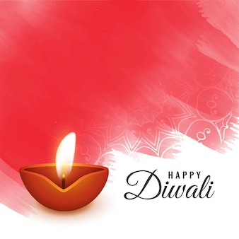 Artistic diwali festival background design