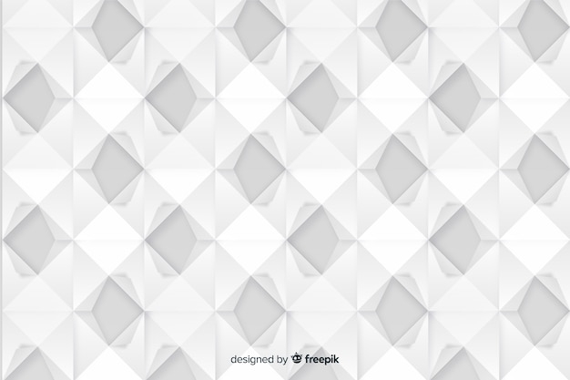 Artistic geometric paper style background