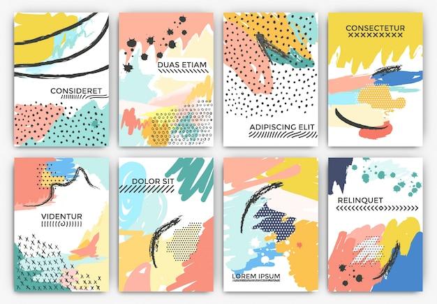 예술적 페인트 카드