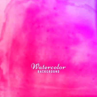 Розовый акварельный современный фон