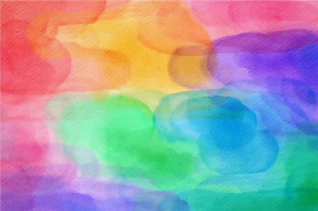 芸術的な水彩画の背景デザイン