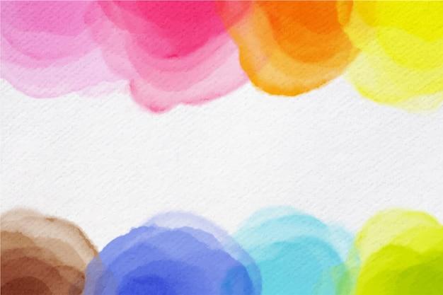 Artistic watercolor design background