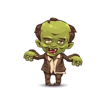 С artoon zombie