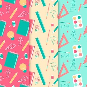 芸術と数学の学校のパターン
