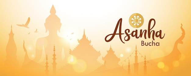 Asanhabuchaタイの重要な仏教の日