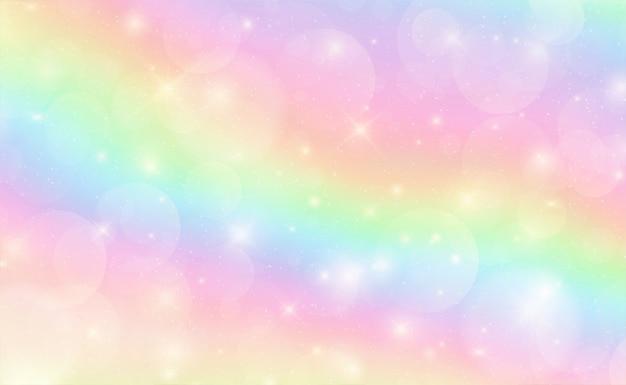 Небо в пастельных тонах