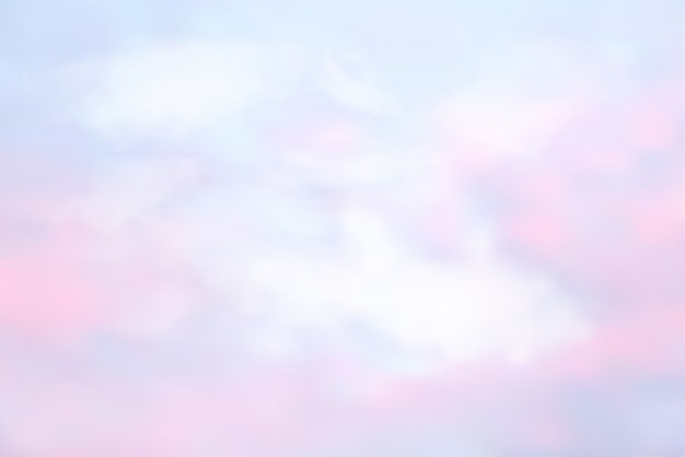 Asbtract sky in pastel color