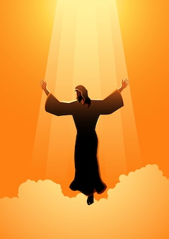 The ascension day of jesus christ