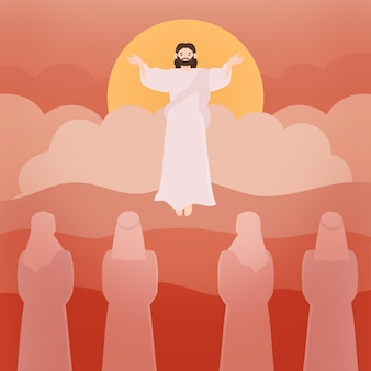 昇天聖木と信者