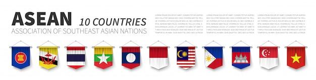 Asean。東南アジア諸国連合