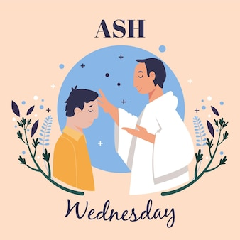 애쉬 수요일 축하 삽화