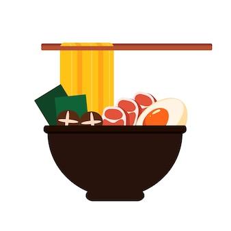 Азиатская еда лапши