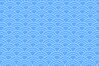 Asian style blue abstract background .