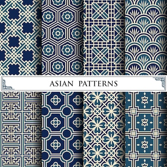 Asian vector pattern