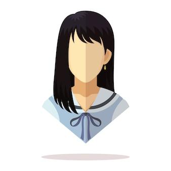 Asian women avatar