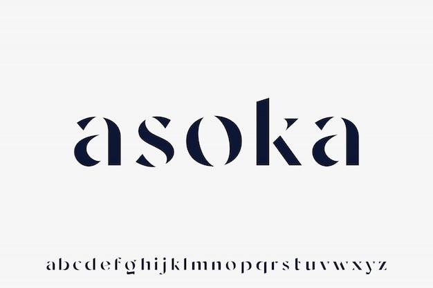 Asoka, шрифт роскоши и гламура