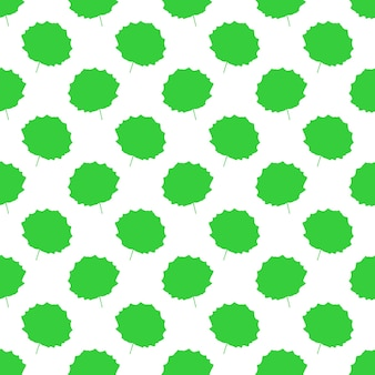 아스펜 잎 패턴입니다. 벡터 일러스트 레이 션