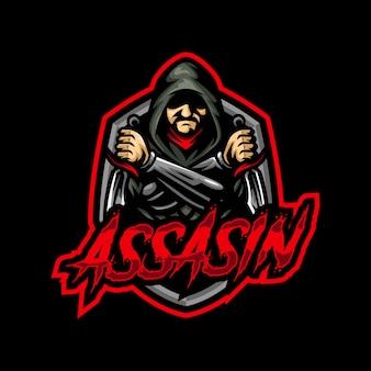 アサシンマスコットロゴeスポーツゲーム