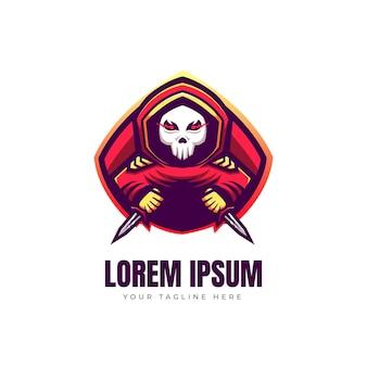 暗殺者のロゴデザイン