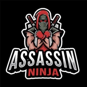 Assassin ninja esport logo