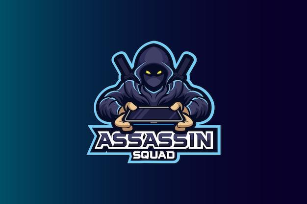 Assassin squad esport logo