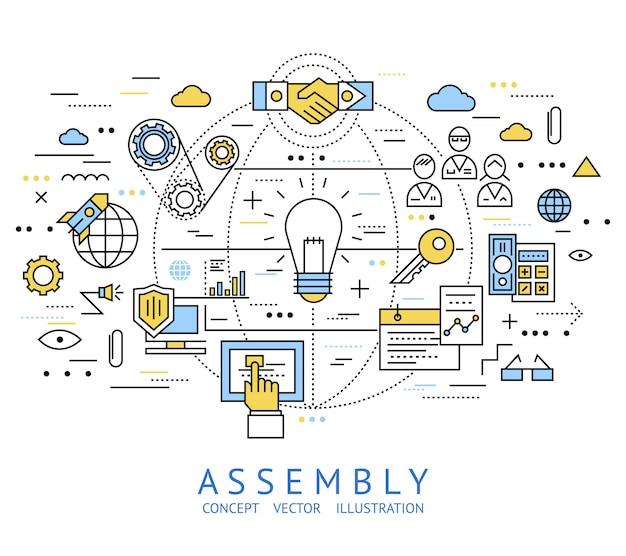 Assembly line art