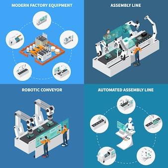 Assembly line design concept