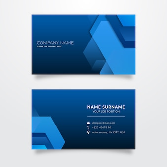 Assortment of business cards