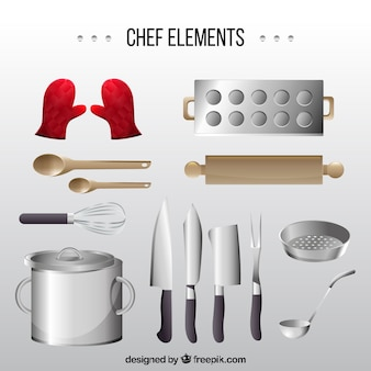 Assortment of items for cooking