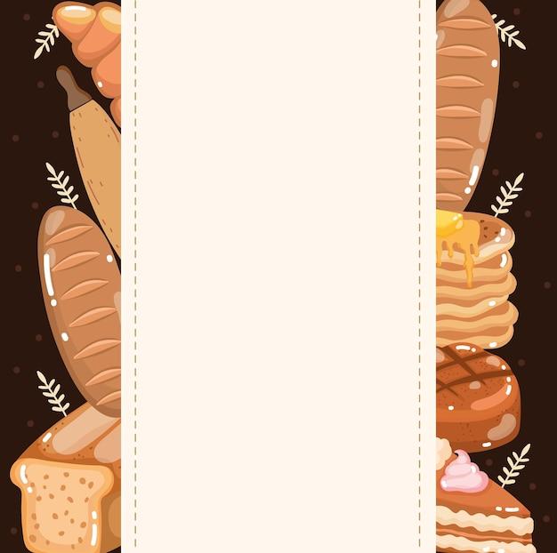 구운 빵의 구색