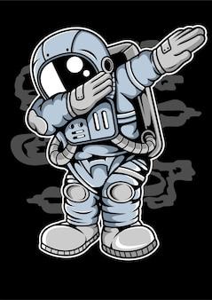 Astronaut dab