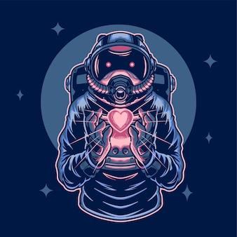 Космонавт находит любовь в космосе