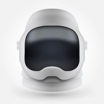 宇宙飛行士のヘルメットアイコン