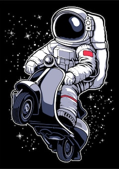 Astronaut scooter