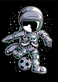 Астронавт футбол