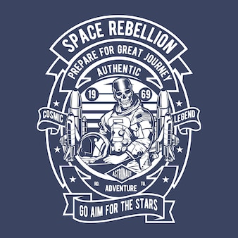 Astronaut space rebellion