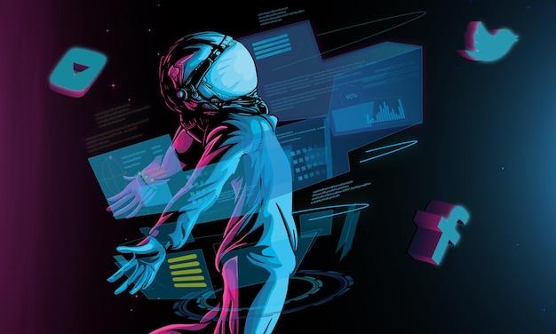 Космонавт