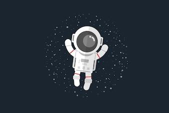 astronaut in space vector art - photo #17