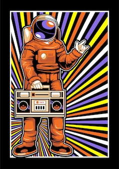 Astronauts love music