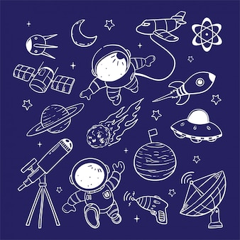 Astronoutイラスト
